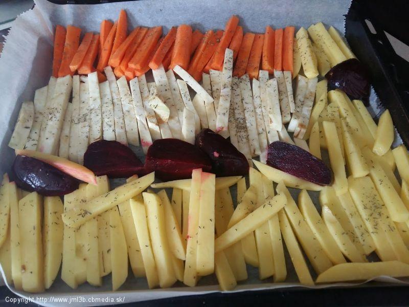 Príloha - pečená zelenina