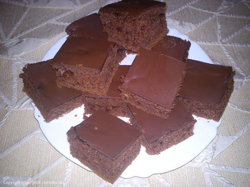 Rýchly perníkový koláč
